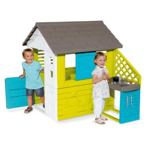 smoby cabane enfant pretty cuisine d 39 t pas cher. Black Bedroom Furniture Sets. Home Design Ideas