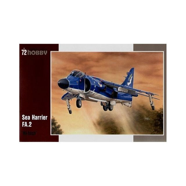Special Hobby Maquette avion militaire : Sea Harrier Fa.2 High Tech