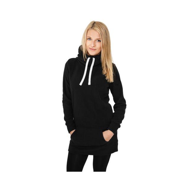 qualité parfaite haute couture mode de luxe Urban Classics - Sweat Long Polaire Noir à capuche - pas ...
