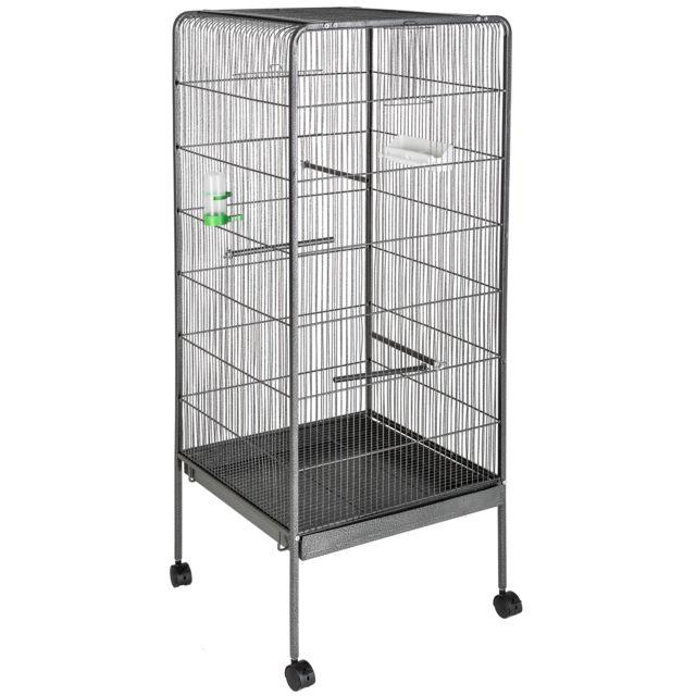 TECTAKE Cage à oiseaux 146 cm