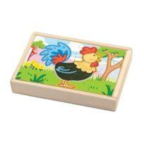 New Classic Toys - 0531 - Puzzle En Bois - Ferme