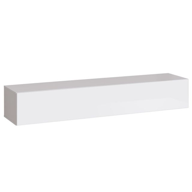 Paris Prix Banc Tv Mural Design Switch 180cm Blanc Pas Cher