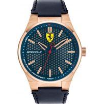 Ferrari Montres - Montre 0830416 - Montre Noir Cuir Homme