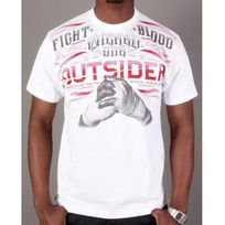 Wicked - Tshirt One Fight Blood blanc, rouge