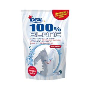 ideal teinture 100 pr t l 39 emploi 400 g blanc pas cher achat vente lavage linge. Black Bedroom Furniture Sets. Home Design Ideas