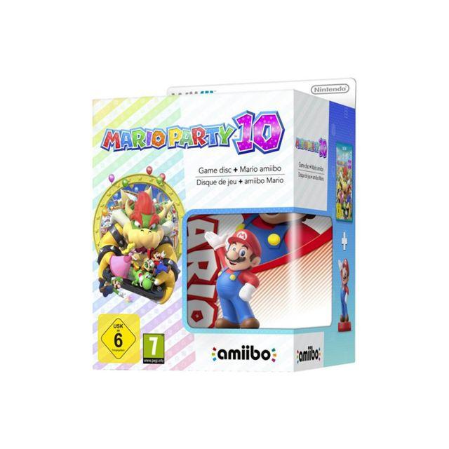 NINTENDO - Mario Party 10 Wii U + Amiibo Mario de la collection Super Mario