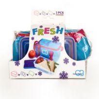 CONNABRIDE - Comprend 1 sac isotherme 3L, 1 bloc réfrigérant 200g et 1 boite lunch box 750 ml