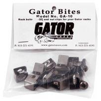 Gator - Sachet 10 vis + ecrous pour flight case
