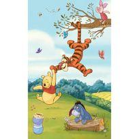 Roommates - Poster sticker géant panorama Winnie l'ourson Disney L 91 cm H 152 cm