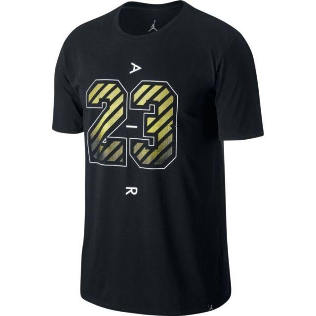 71103d137ee0c0 Jordan - T-shirt Dry 23 Air Noir pour homme Taille - Xl - pas cher ...