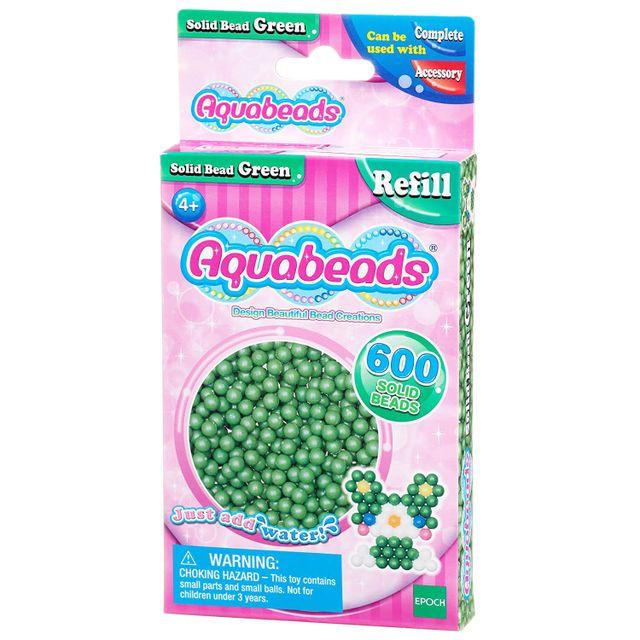 Aquabeads - Recharge de 600 perles vertes