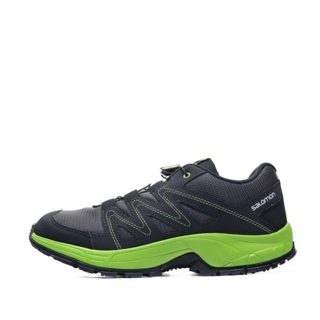 Salomon Okiwi Chaussures de randonnée gris foncé enfant Gris 31