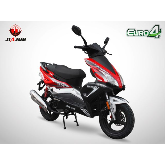 jiajue scooter 50cc 4t fusion 50 rouge achat vente scooters 50 pas cher rueducommerce. Black Bedroom Furniture Sets. Home Design Ideas