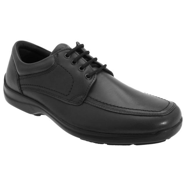 Imac Chaussures de ville - Homme 46 Eur, Noir Utdf612