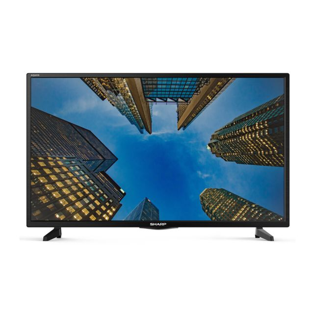 sharp tv led 40 102 cm lc 40fg3342e noir pas cher achat vente tv led de 40 39 39 49. Black Bedroom Furniture Sets. Home Design Ideas