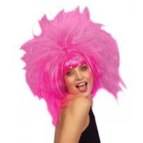 Widmann - Perruque rose coiffure en pétard femme