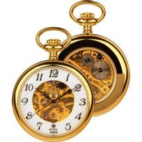 Royal London - Montre mécanique Gousset Homme Métal dorée - 90002-02