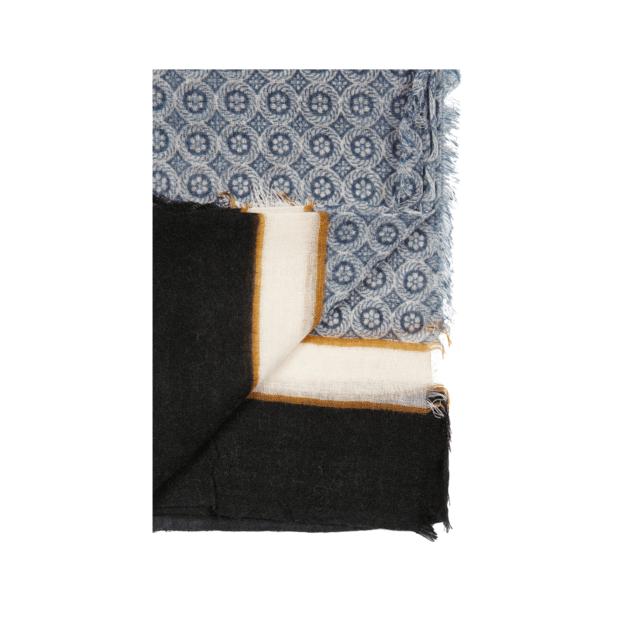 637c91c1bbd Bruce Field - Echarpe à motifs en pure laine - pas cher Achat ...
