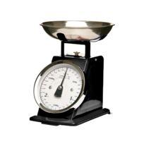 Secret De Gourmet - Balance de cuisine mécanique noire 3kg