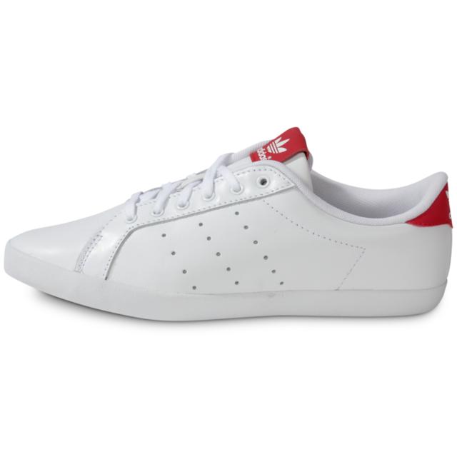 Adidas originals - Miss Stan Blanche Rouge - Tennis Femme ...