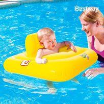 Totalcadeau - Bouée fauteuil siège gonflable pour bébés piscine mer enfant