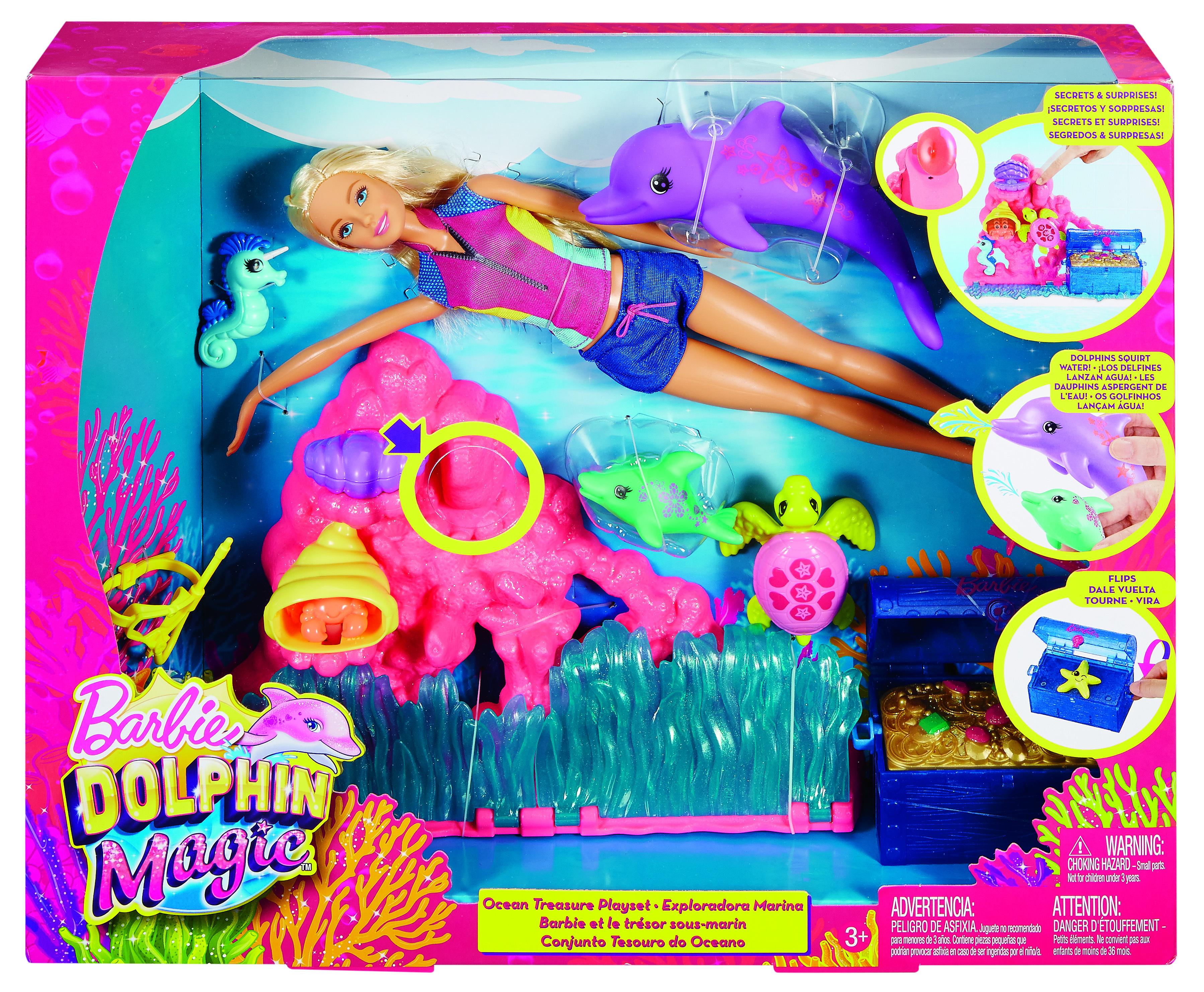 Coffret Barbie La Magie des Dauphins - FCJ29