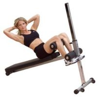 BodySolid - Banc Body Solid Adjustable Pro Style Ab Board