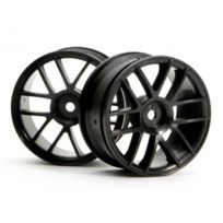 HPI Racing - Jantes 6 branches 26mm Noires - Sprint 2
