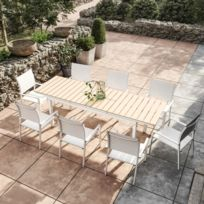Table jardin composite - catalogue 2019 - [RueDuCommerce - Carrefour]