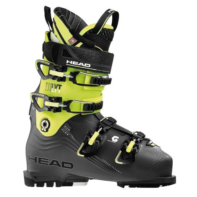 065df1ef9b Head - Chaussures De Ski Nexo Lyt 130 Anthracite / Yellow - pas cher Achat  / Vente Chaussures ski - RueDuCommerce