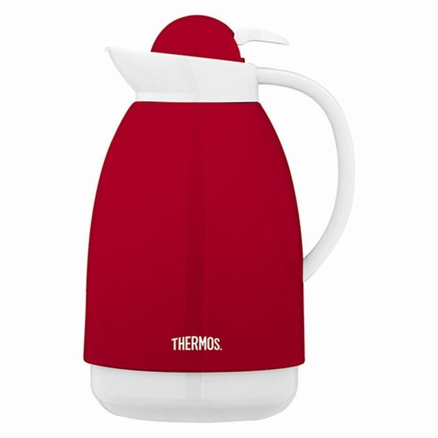THERMOS carafe isotherme 1l rouge/blanche - 101967