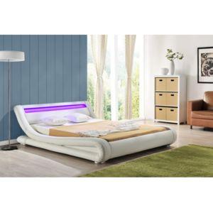 envie de meubles lit luminosa 160x200 cm avec clairage. Black Bedroom Furniture Sets. Home Design Ideas