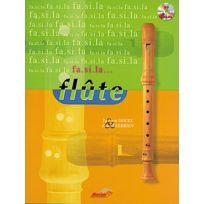 Musicom - Méthodes Et Pédagogie Douel L Terrien P Fa Si La Flute Vol. 1 + Cd - Flûte à Bec Flûte à Bec