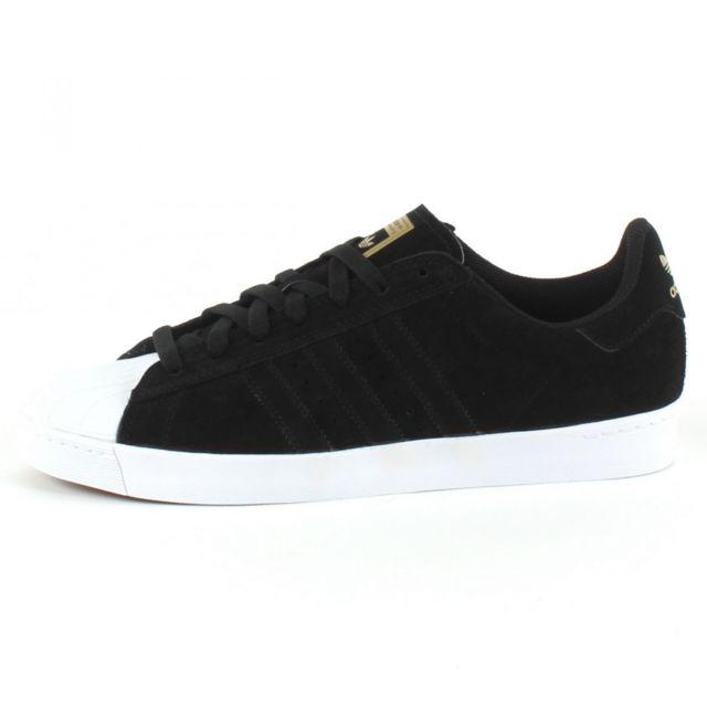 Adidas originals Baskets Superstar Vulc Adv Noir pas