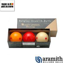 Aramith - Billes Super Pro Cup 61,5 mm Carambole