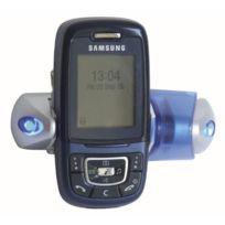 Adnauto - Porte telephone avec Leds - bleu