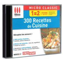 Micro Application - 300 recettes de cuisine