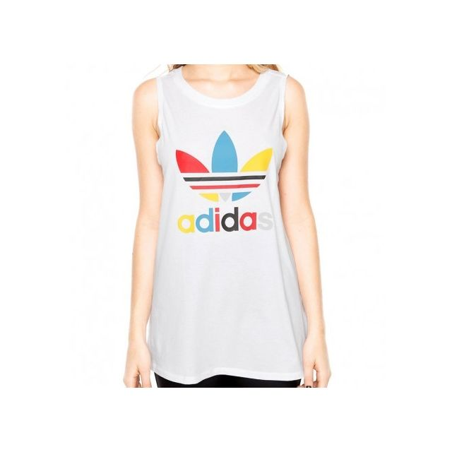 Adidas originals Débardeur Loose Blanc Femme Adidas