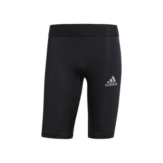 Adidas Legging court AlphaSkin Sport M noir pas cher