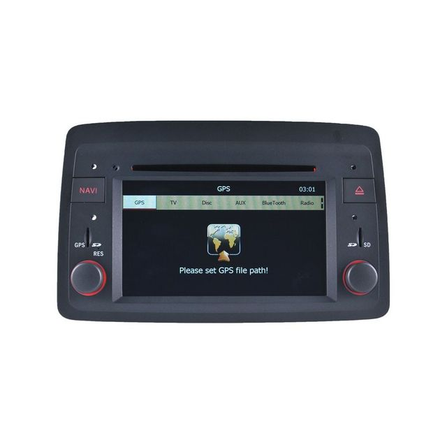Auto-hightech Autoradio Gps bluetooth Fiat Panda de 2004 ˆ 2012
