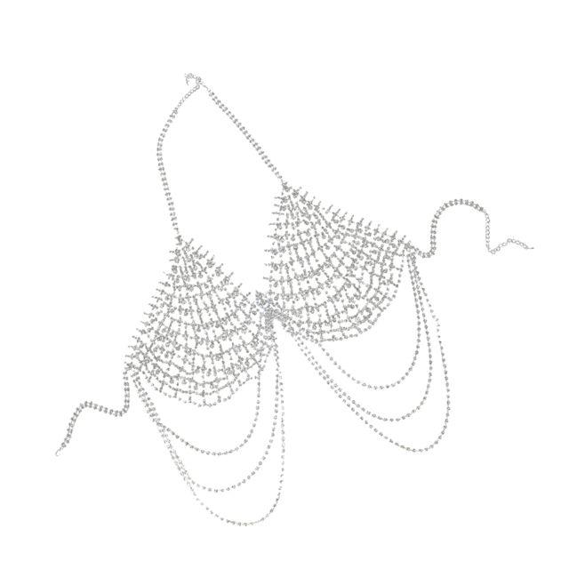 Chaîne corps plage d'été accessoire bijoux