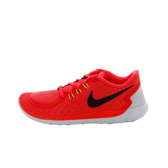 524c25afcf361 Nike - Basket Free 5.0 GS 725104-600 37 1 2 - pas cher Achat   Vente  Baskets enfant - RueDuCommerce