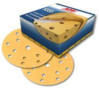 Bvd - 50 disques abrasif sur velcro grain 400 format 150mm 14+1 trous