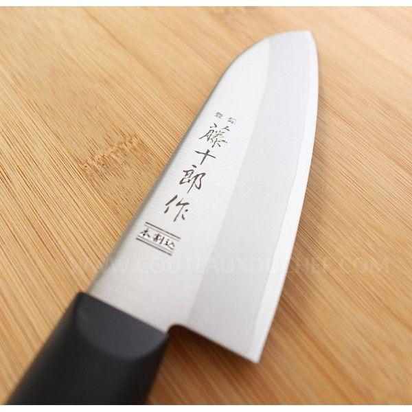 Tojiro - Couteau japonais santoku 14cm Dp Eco Noir