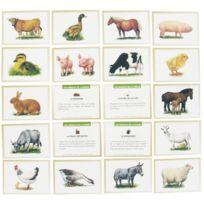 """Editions Lito - images """"les animaux de la ferme"""" - boite de 100"""