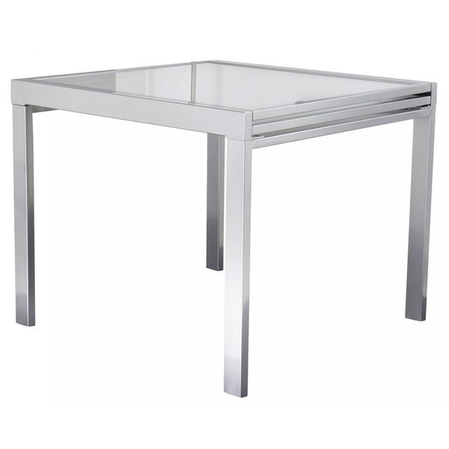 Altobuy Nicol - Table Extensible Argent