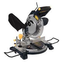 Gmc - Scie à onglet radiale combinée 210 mm, 1 200 W - Gm210C