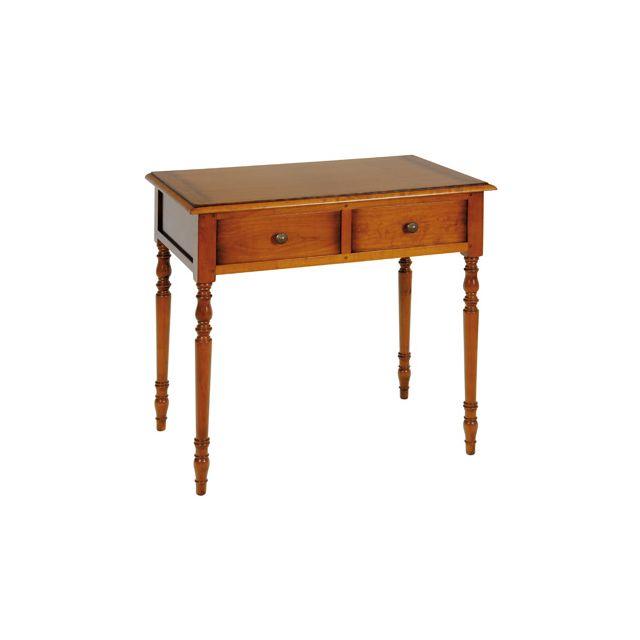 Table à écrire en merisier massif Style Louis Philippe