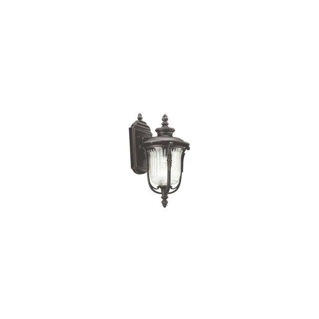 Elstead Lighting Applique Luverne H 33,7cm 1x100W Bronze Noir