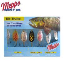 Mepps - Kit De 7 Cuillers Special Truite